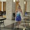 Erica on Crutches