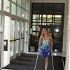 Erica on Crutches